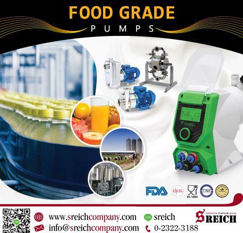 ปั๊มโดสสารละลายความแม่นยำสูง สำหรับอุตสาหกรรมอาหารและเครื่องดื่ม