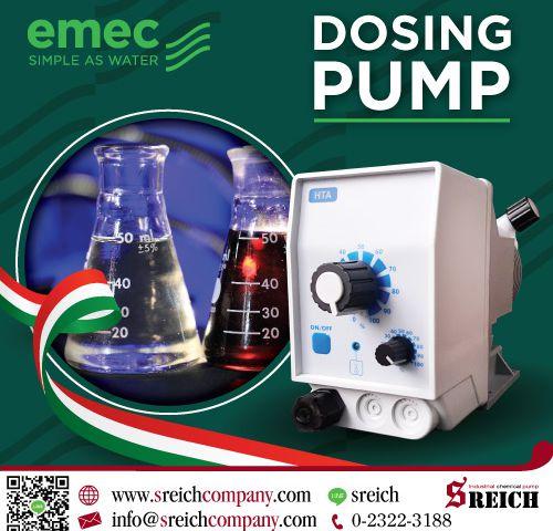 ปั๊มฟีดสารเคมี ปั๊มโดสสารละลาย Metering Pump